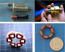 Small pump motors and windings