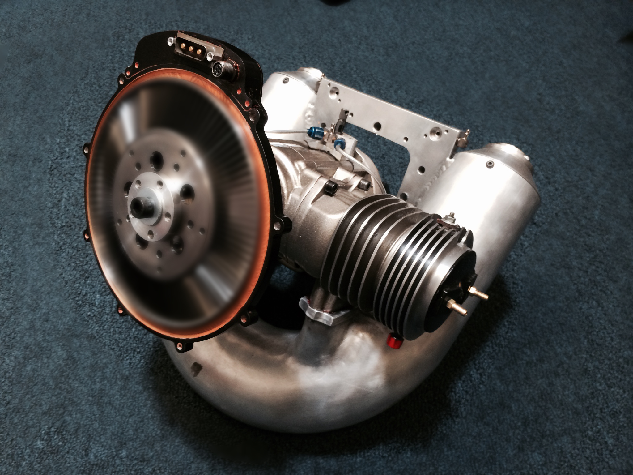 Alternator Integrated with Gen-Set