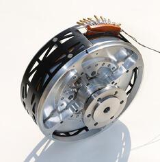 Electric vehicle propulsion for Halbach array motor generator