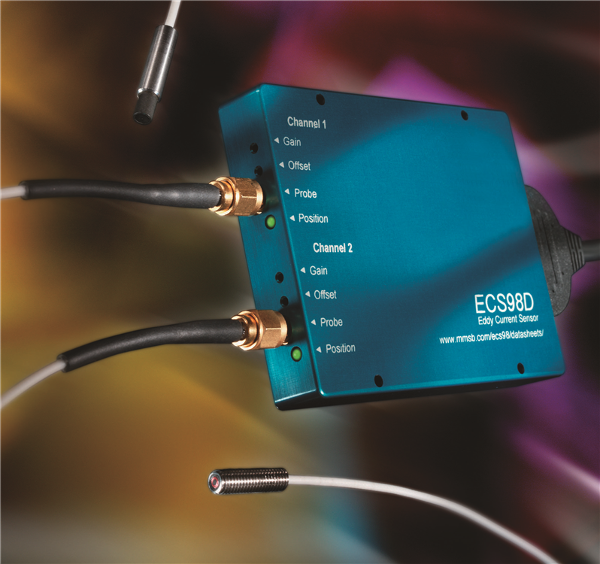 ECS98D Dual Channel Eddy Current Sensor